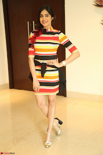 Adha Sharma in a Cute Colorful Jumpsuit Styled By Manasi Aggarwal Promoting movie Commando 2 (134).JPG
