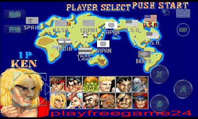 Street Fighter II Android Games Full Version Free Download