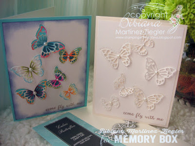 CAS butterfly cards