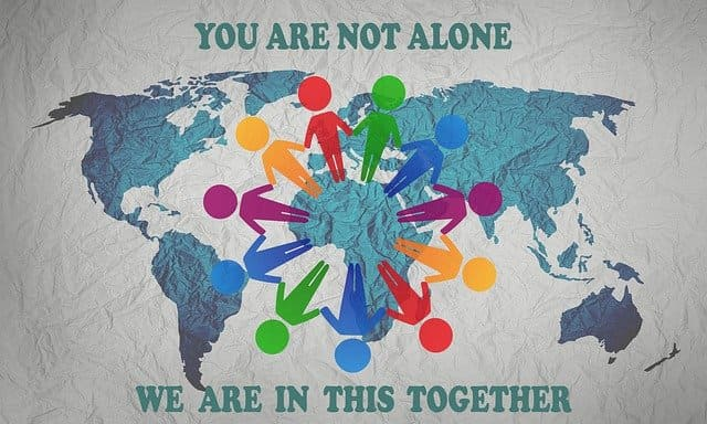 Stay calm, you are not alone