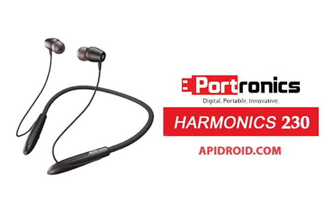 Portronics Harmonics 230 Neckband Styled Earphones launched in India