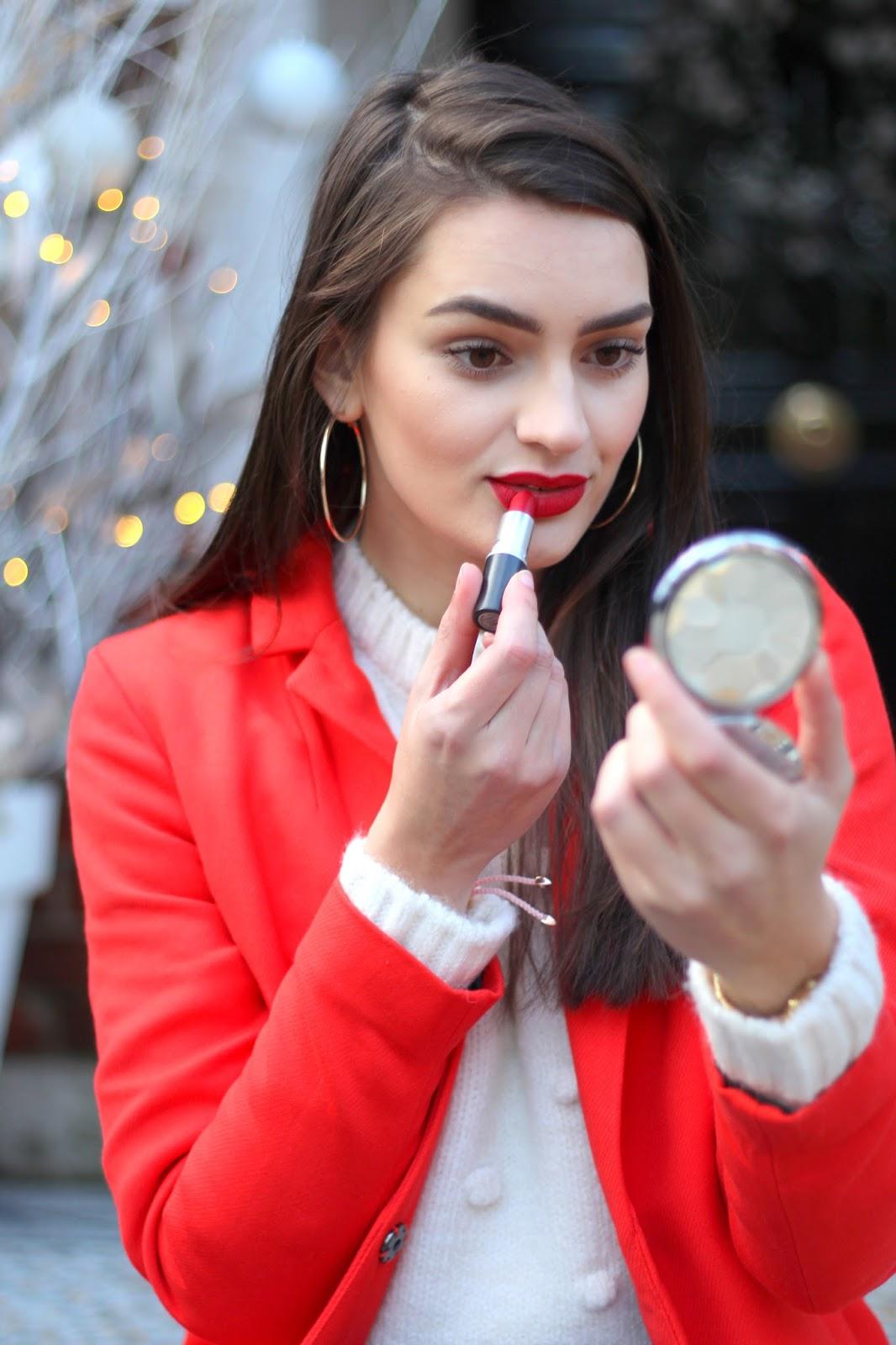mac ruby woo matte lipstick peexo