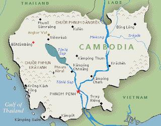 peta negara kamboja