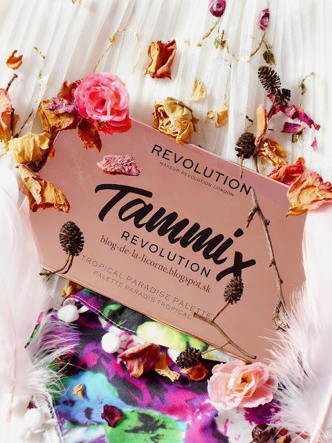 Makeup Revolution Tammi Tropical Paradise recenzia