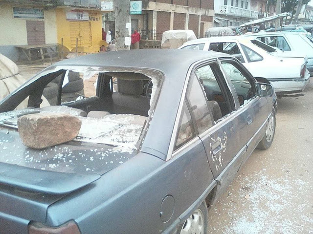 Photos :Angry Youths Go On Rampage After Girl Was Molested In Jos.