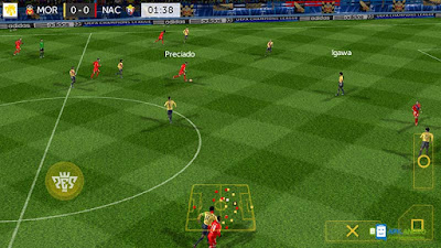 Download Game PES 2017 MOD Apk+Data For Android Terbaru