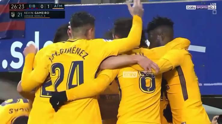 نتيجة مباراة اتليتكو مدريد وايبار بتاريخ 01-09-2019 الدوري الاسباني