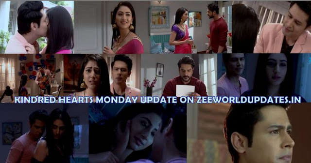 "Zee World Kindred Hearts 19th August 2019 Monday Written Update "" Aditya-Jhanvi's Romance On Peak Samar Joins Hands with Nisha ""."