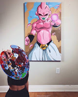pinturas de dragon ball