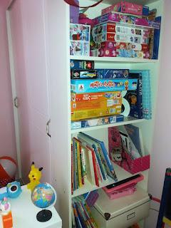 Παιδικό δωμάτιο ολοκληρωμένη λύση βιβλιοθήκη