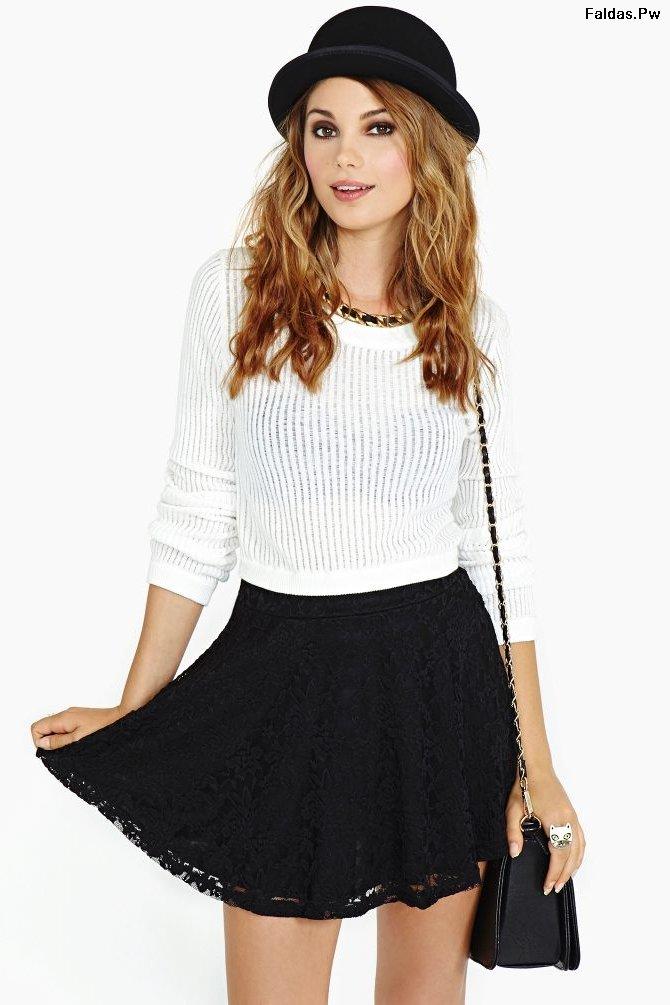 disfruta del envío gratis Super descuento Descubrir 971201 faldas negras de vestir 26 exclusivas propuestas ...