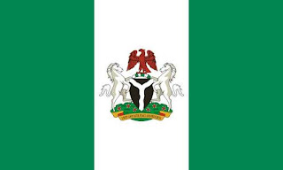 Nigeria Flag with coat of arms