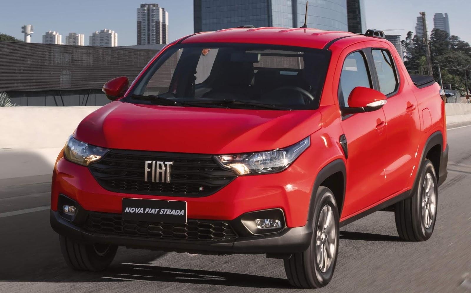 Fiat Strada - veículo mais vendido do Brasil em junho de 2021