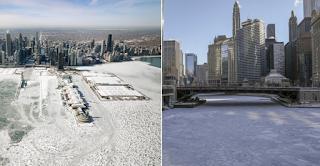 Frozen: Παγωμένη πολιτεία το Σικάγο στους -50 - Πέπλο πάγου κάλυψε τα πάντα [εικόνες]