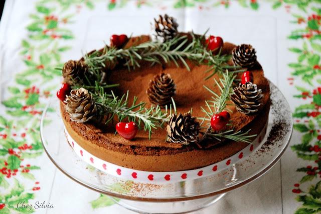 Tarta de chocolate con aroma de naranja - Chez Silvia