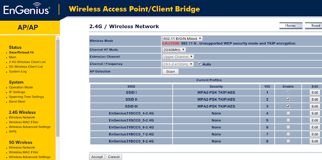 Setting Multiple SSID & VLAN di EnGenius EAP600