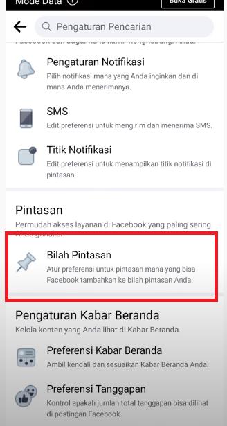 cara menampilkan icon watch di facebook
