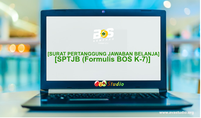 Formulir BOS K-7 - SPTJB BOS Madrasah Tahun 2021