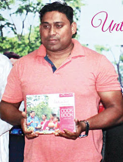 Joseph Rozario launched North Bengal recipes cookbook