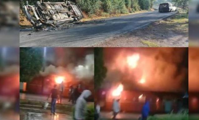 Video: Sicarios de El CJNG retan a Militares y Estatales en Zinapecuaro, Michoacán, luego andan llorando y pidiendo perdón