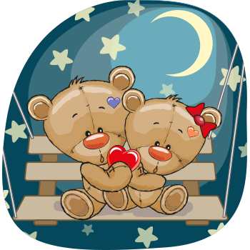 Moonlight Teddy Bears
