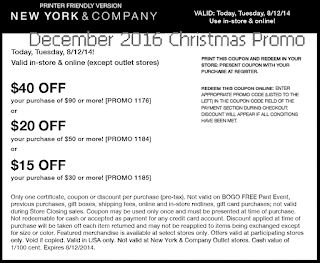 free New York And Company coupons for december 2016