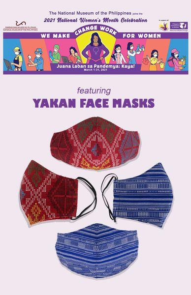 yakan faces masks