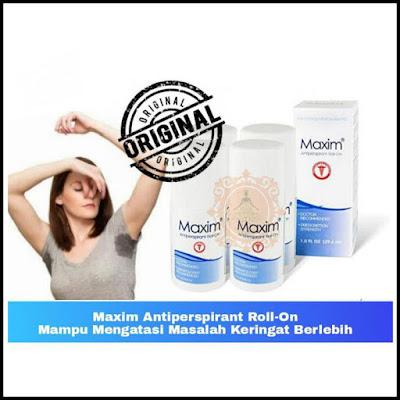 Maxim Antiperspirant Mengatasi Keringat Berlebih Ketiak