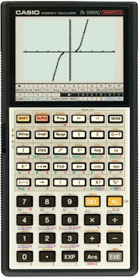 Kalkulator Scientific Grafik (Casio fx-7000G)