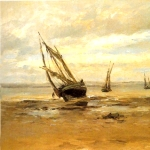 'La barca (Carlos de Haes)'