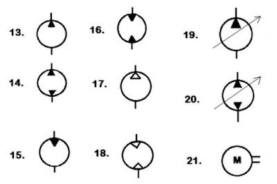 Fluid circuit diagram