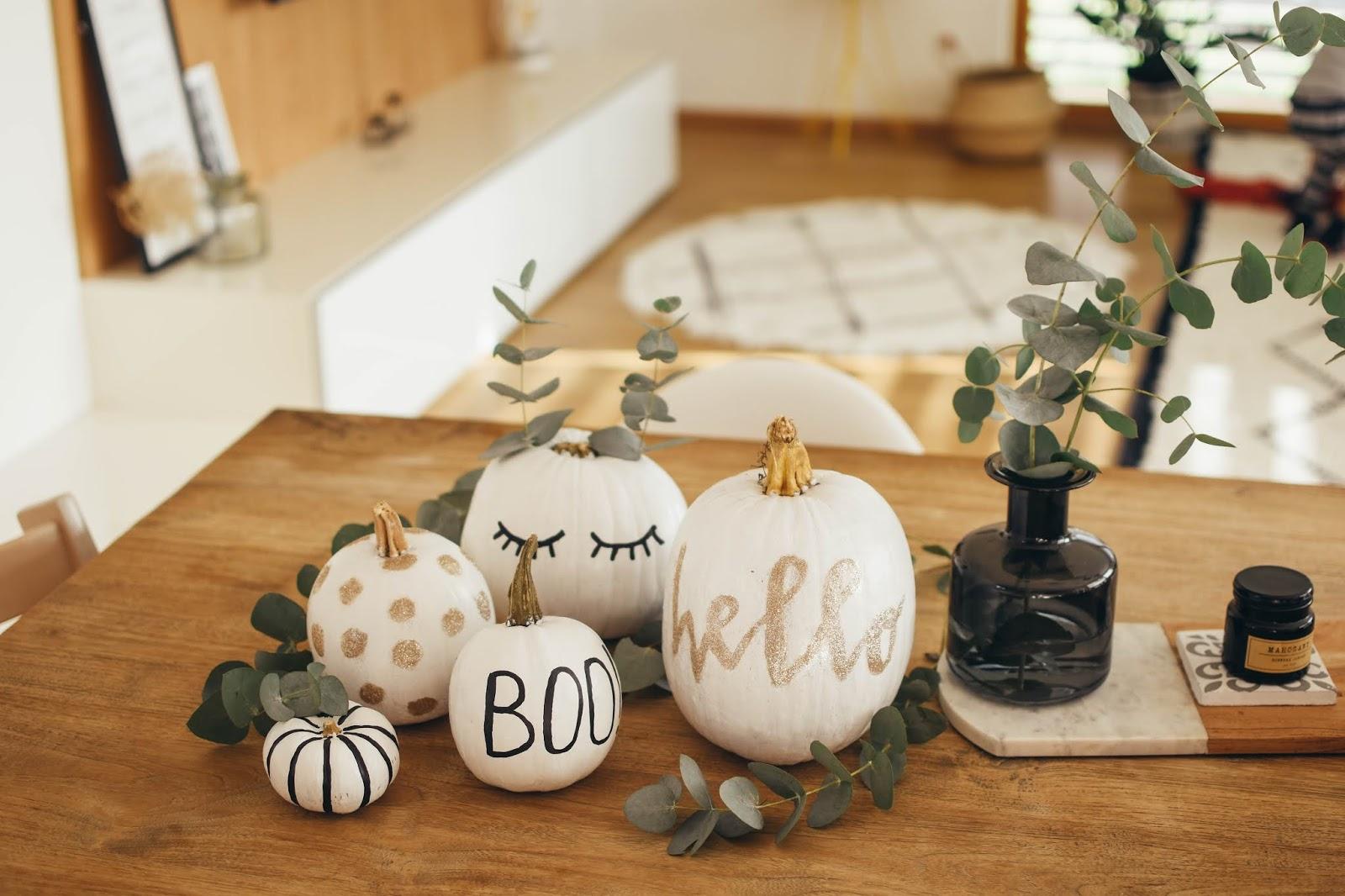 DIY // Halloweenské dýně