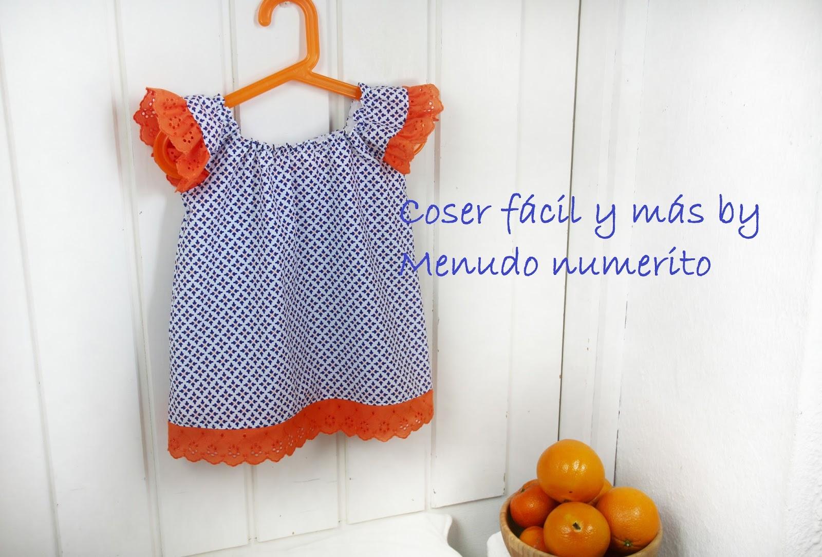 Top o vestido de niña fácil - Handbox Craft Lovers | Comunidad DIY ...
