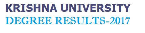 KRU Degree results 2017