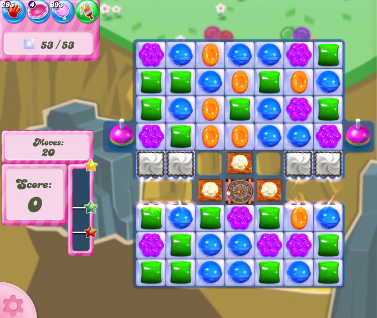 Candy Crush Saga level 2848