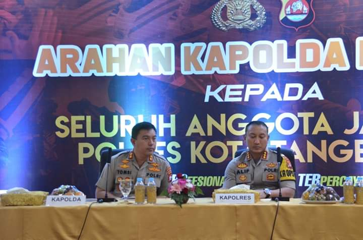 Kapolda Banten Tatap Muka Dengan Semua Tokoh Masyarakat Tangeran