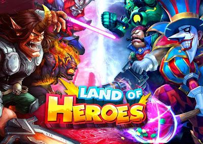 Ok sob kali ini admin jembercbyer akan membagikan sebuah game anroid yang sanggup di mainka Unduh Game Land of Heroes v0.06.0680q Mod Apk High Damage + God Mode Terbaru