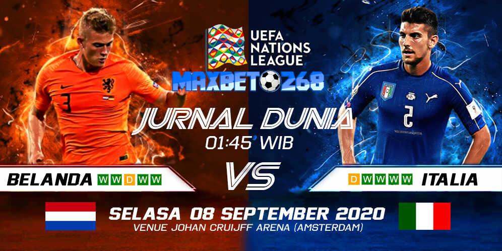 Prediksi Belanda vs Italia