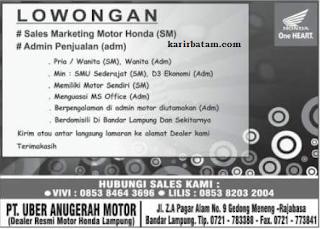 PT. Uber Anugerah Motor
