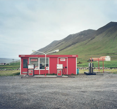 Petrol and service stations in Iceland