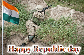Republic day images BSF jawan