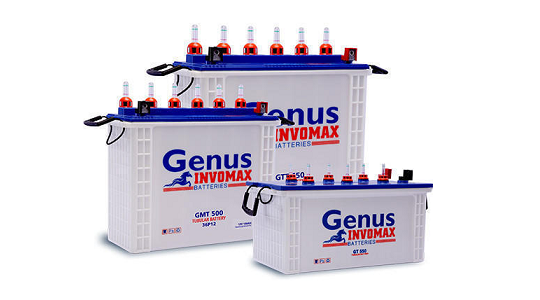 Genus Invomax GTT56048 PP 160 AH Tall Tubular Inverter Battery