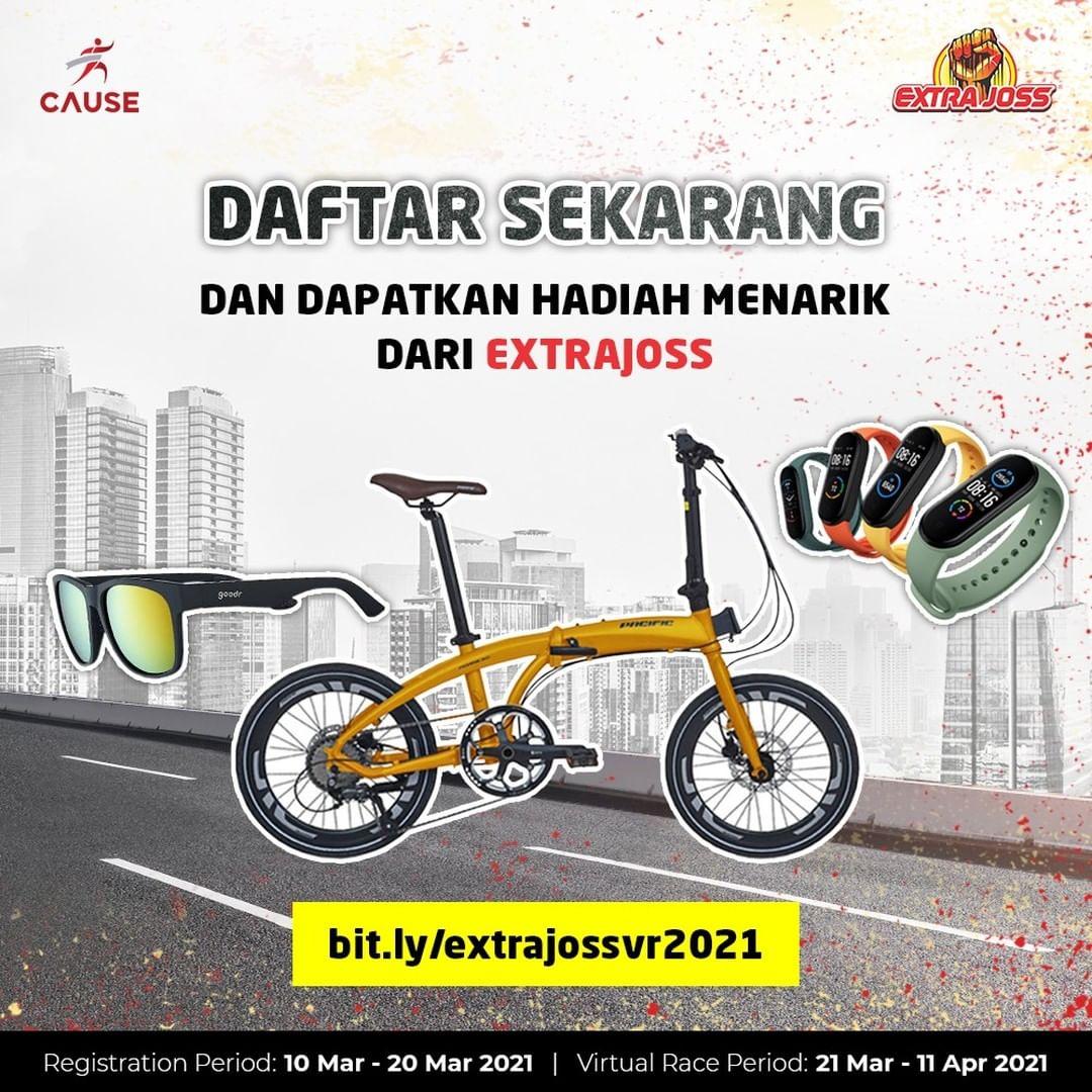 Doorprize � ExtraJoss New Laki Race To Share • 2021
