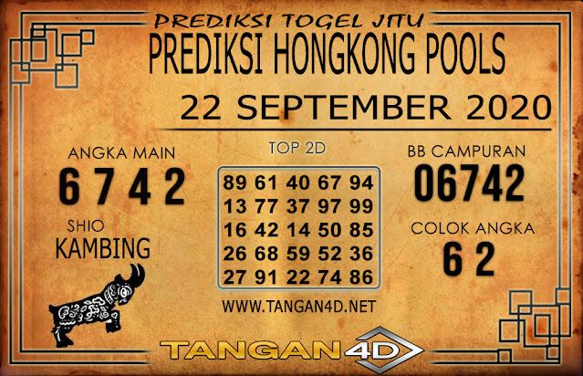PREDIKSI TOGEL HONGKONG TANGAN4D 22 SEPTEMBER 2020