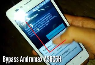 Cara Remove FRP Andromax A2 A36C5H Tanpa PC