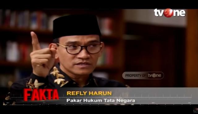 Ahok Dituding Ingin Jadi Menteri, Refly Harun: Tak Penuhi Syarat