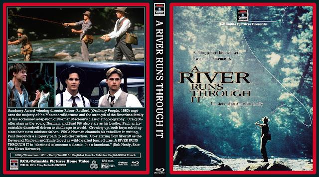 A River Runs Through It Bluray Cover