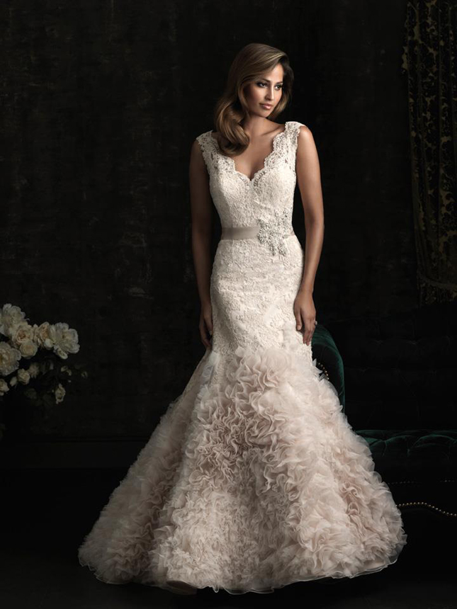 Style 8954 This May Just Be The Perfect Dress For A Clic Affair Pure Elegance