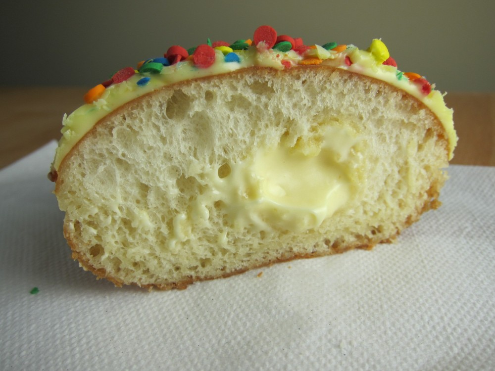 The Yeast Donut Has Soft Airy Cloud Like Texture That Krispy Kreme Is Known For Combined With Other Components Theres A Pleasant Combination Of
