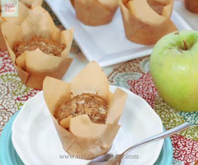 Receta muffins de canela y manzana
